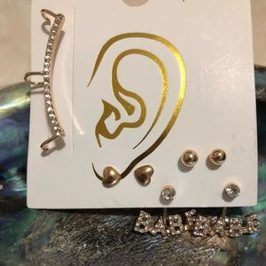 Earring set with Cartilage Cuff